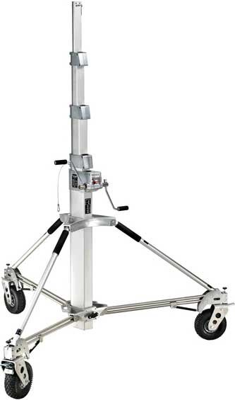 19.75 ft Tall Long John Silver 5 Sections Lighting Stand