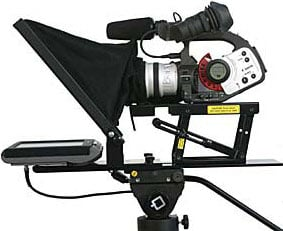 """Mirror Image Teleprompter LC10MP  10"""" LCD Color Teleprompter LC10MP"""