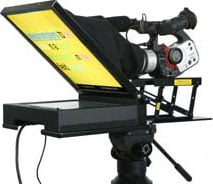 "15"" High-Brightness LCD Field Teleprompter"
