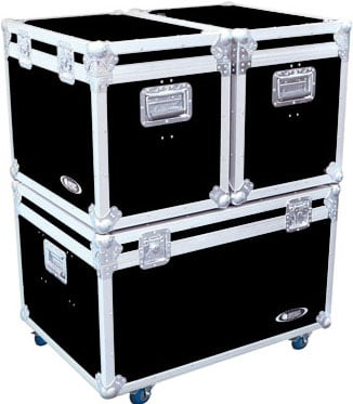 "Truck Pack Case System (with 4"" Casters on Base Unit)"