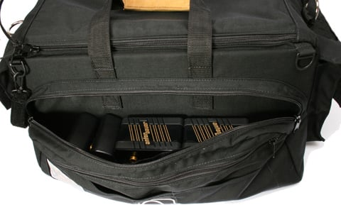 "Black Cargo Case (21""L x 8""W x 10""H, with Divider Kit)"