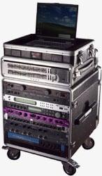 "14 RU Portable Rack (with 21"" Rackable Depth)"