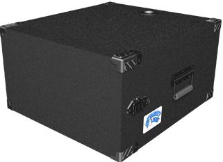 6 RU Mighty Light™ Portable Deep Amp Rack