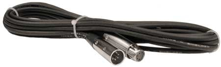 30 ft. XLR-M to XLR-F 5-Pin DMX Cable