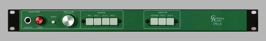4 input Switcher w/Monitor Control