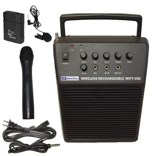 20W Wireless Mity-Vox Portable PA System