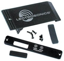Lectrosonics BEZELKITR1A Bezel/Belt Clip Kit (for IFB R1A Receiver) BEZELKITR1A