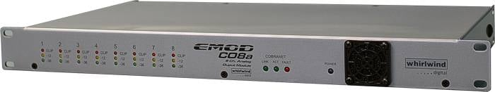 Whirlwind CO8A  8 Analog Outputs, Cobranet In  CO8A
