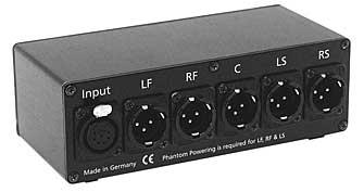 XLR7-SLR3, Passive Matrix to 5.0 Surround