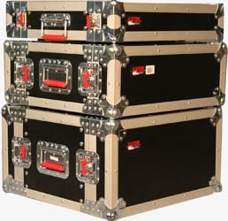 Gator Cases G-TOUR-EFX-2 2RU Shallow Rack-Mount ATA Road Case G-TOUR-EFX-2