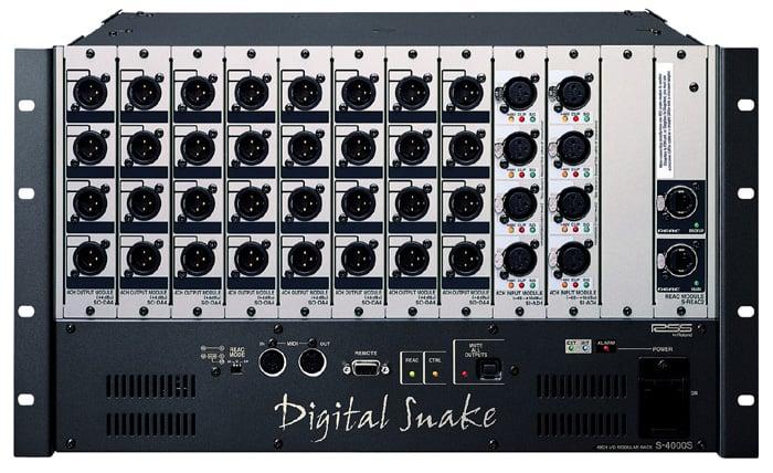 Digital Stage Snake Modular Rack 40 x 0