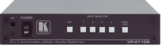 4x1 UXGA/Stereo Audio Standbye Switcher
