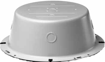 "8"" Recessed Protective Speaker Backbox (with One 1/2"" Rear Knockout)"