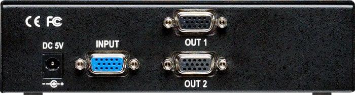 Distribution Amp Analog 1x2 RGB/YPbPr DA