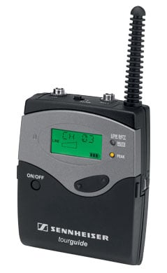 Bodypack Transmitter, 6 Channels, 926-928MHz