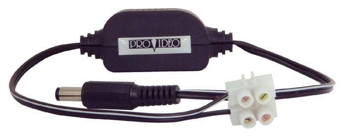 Power Converter, CCTV, 24VAC-12VDC