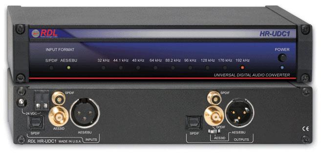 Universal Digital Audio Converter