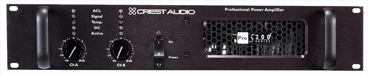 Power Amplifier, 290W @ 8 Ohm Stereo