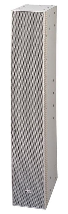 TOA SR-S4S 600W Curved Short-Throw Slim Line Array in White SR-S4S