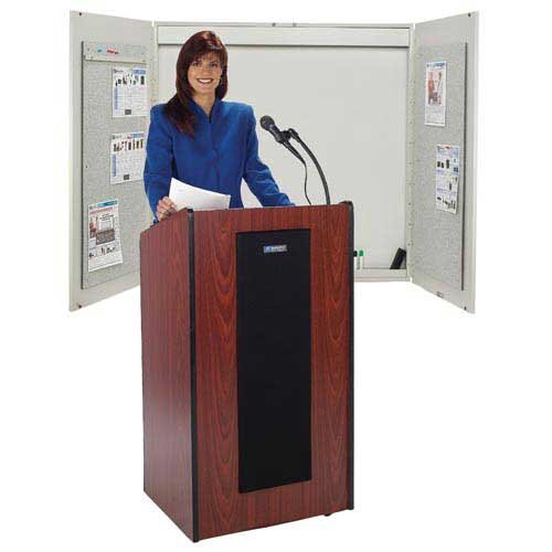 Wireless Presidential Plus Lectern with Lapel Microphone Transmitter