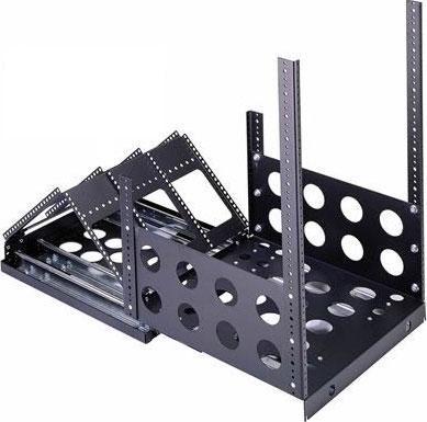 12-Space Sliding Rail System (4 Slides, 250 lb. Cap.)