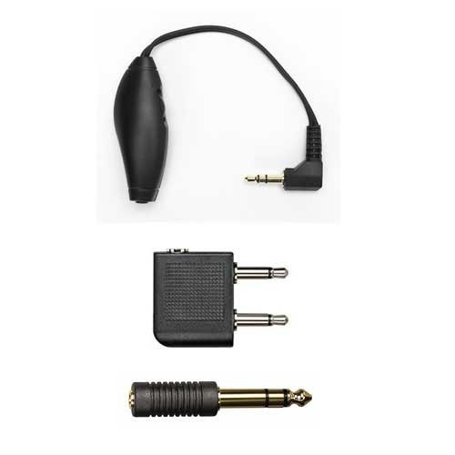 Kit:2 Adapters, Volume Control