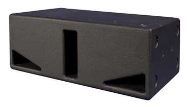 "2x 8"" Subwoofer in Black - 300W Continuous @ 4 Ohms"