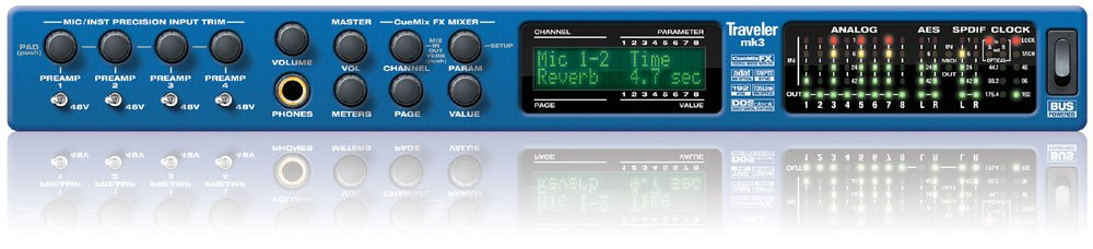 Mobile Firewire Audio Interface