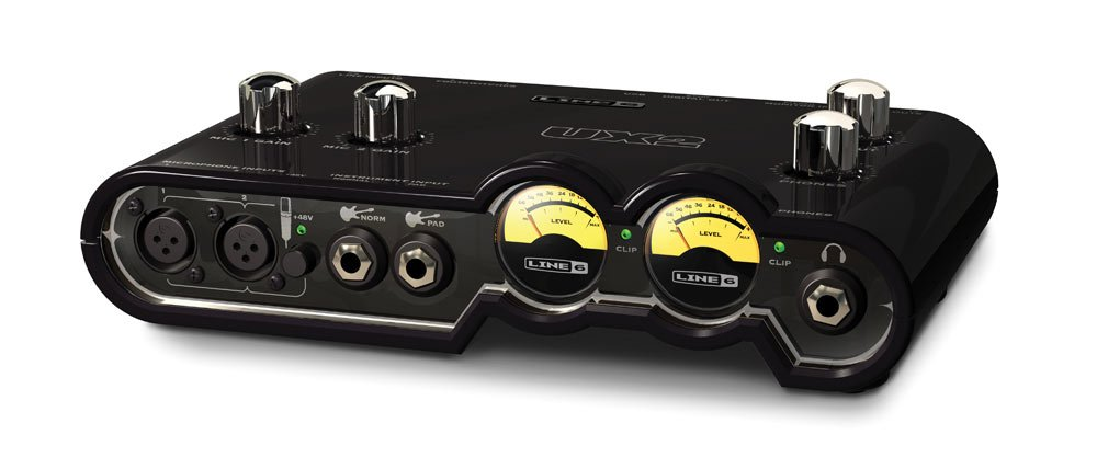 Line 6 POD-STUDIO-UX2 5-Channel USB Computer Audio Interface