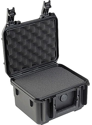 "Case Molded, 9"" x 7"" x 6"" w/mini-latch, cubed foam"