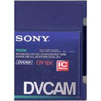 Sony PDVM12ME DVCAM Video Cassette, 12 minutes PDVM12ME