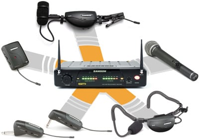 Airline 77 Wireless Instrument System with AF1