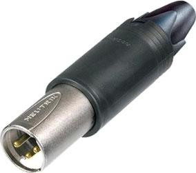 ConvertCon Unisex Female/Male XLR Cable Connector (Black)