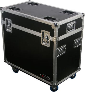 Dual 250 Style Moving Head Lighting Case Case