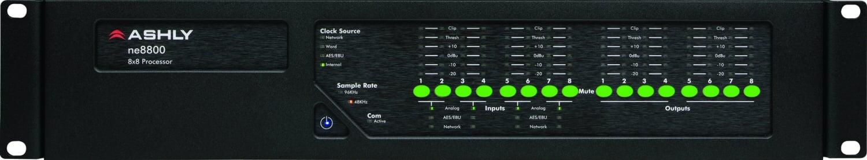 Ashly ne8800 8x8 Network Audio Processor NE8800