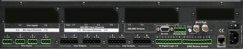 8x8 Network Audio Processor