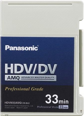 33 Minute Advanced Master Quality DVCAM Mini-Cassette