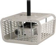 Projector Security Cage in White