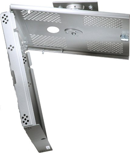 Universal Security Projector Mount (White)
