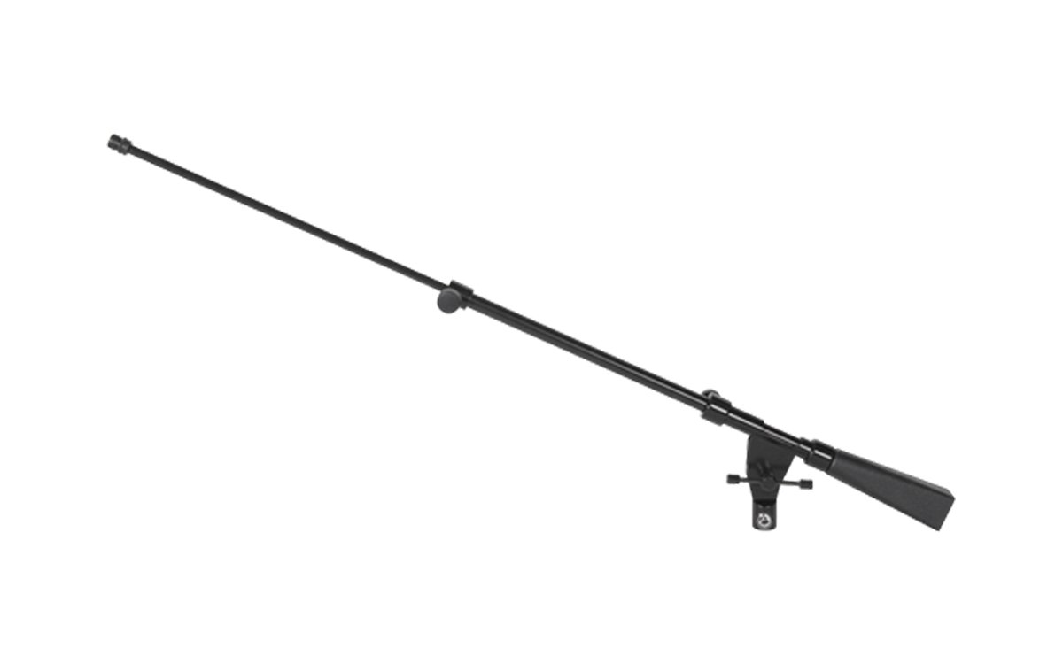 "Extendable Mic Boom Arm, with Counter Weight, 25""-38"", Black"