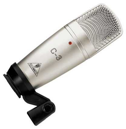 Large Dual-Diaphragm Multi-Pattern Condenser Microphone
