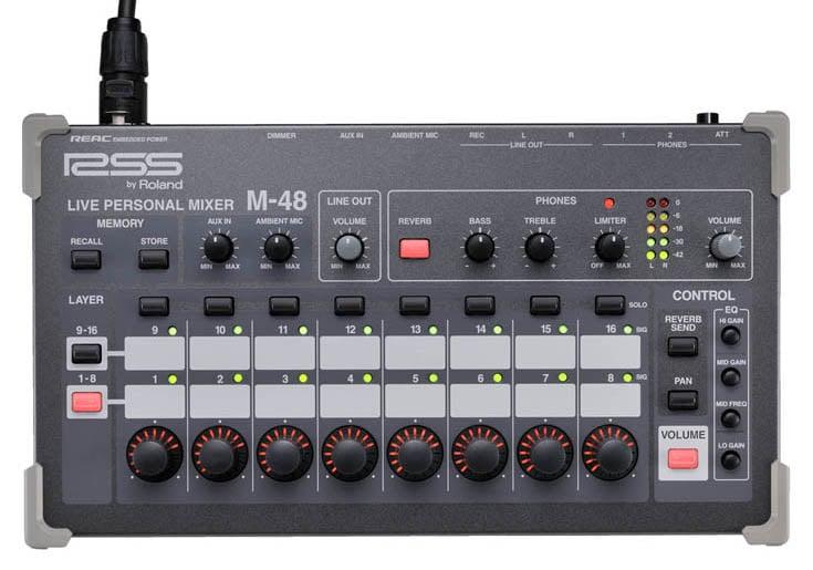 Live Personal Mixer, 40 inputs REAC