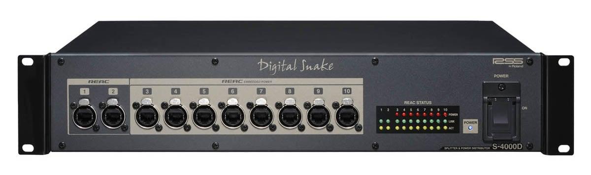 REAC Digital Snake Splitter and Power Distributor