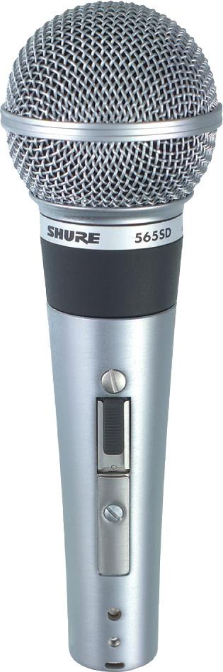 Shure 565SD-LC Cardioid Dynamic Microphone 565SD-LC