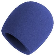 Blue Foam Windscreen for Larger Ball-Type Microphones
