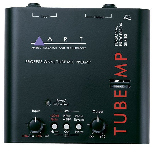 Single Channel Tube Microphone Preamp