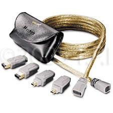 Firewire Adapter System, 15ft.