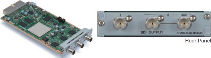 HD/SD-SDI Output Card for HVS-300HS