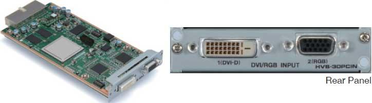 PC (DVI/VGA) Input Card for HVS-300HS