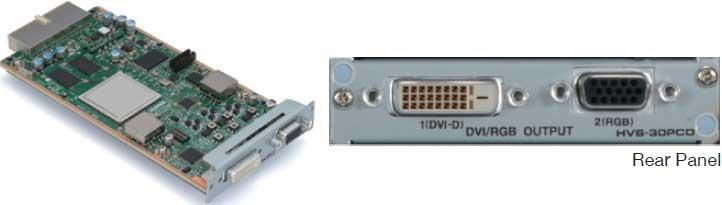 PC (DVI/VGA) Output Card for HVS-300HS